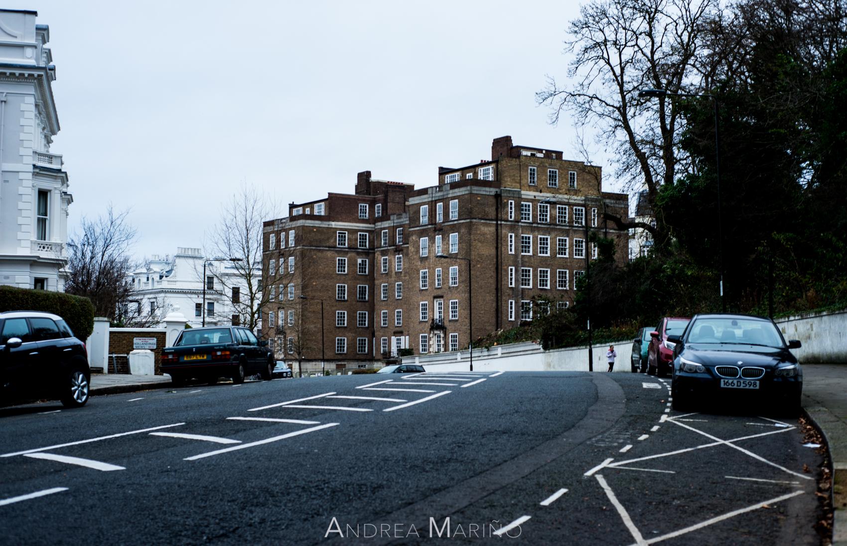 Andrea Mariño. Londres baixo cero. 2016