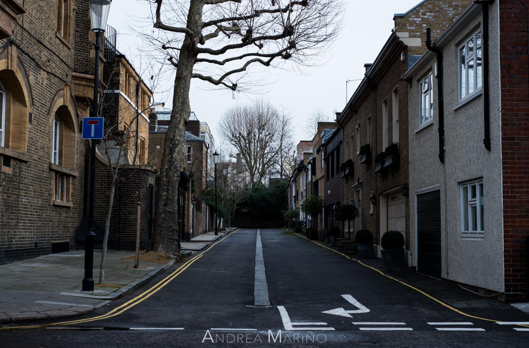 Andrea Mariño. Londres fan de Wes Anderson. 2016