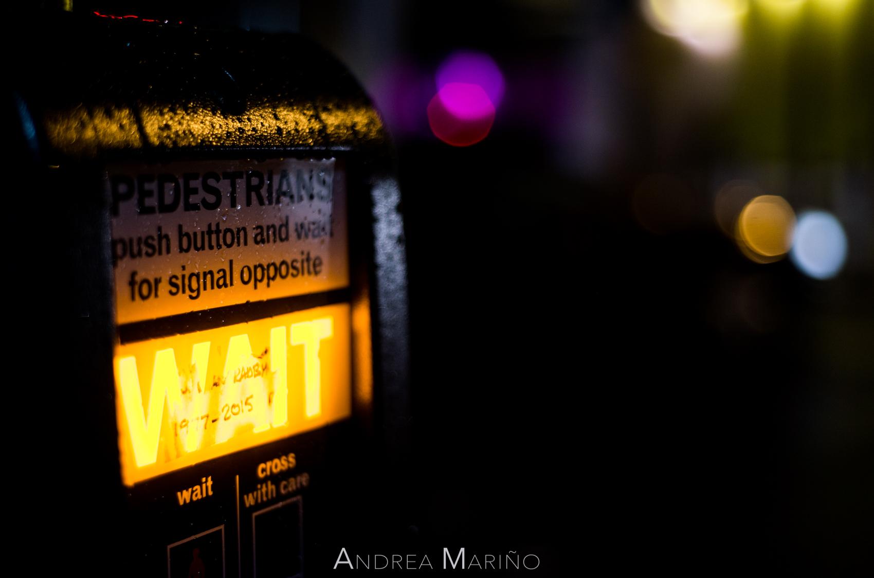 Andrea Mariño. Londres luces de neón. 2016
