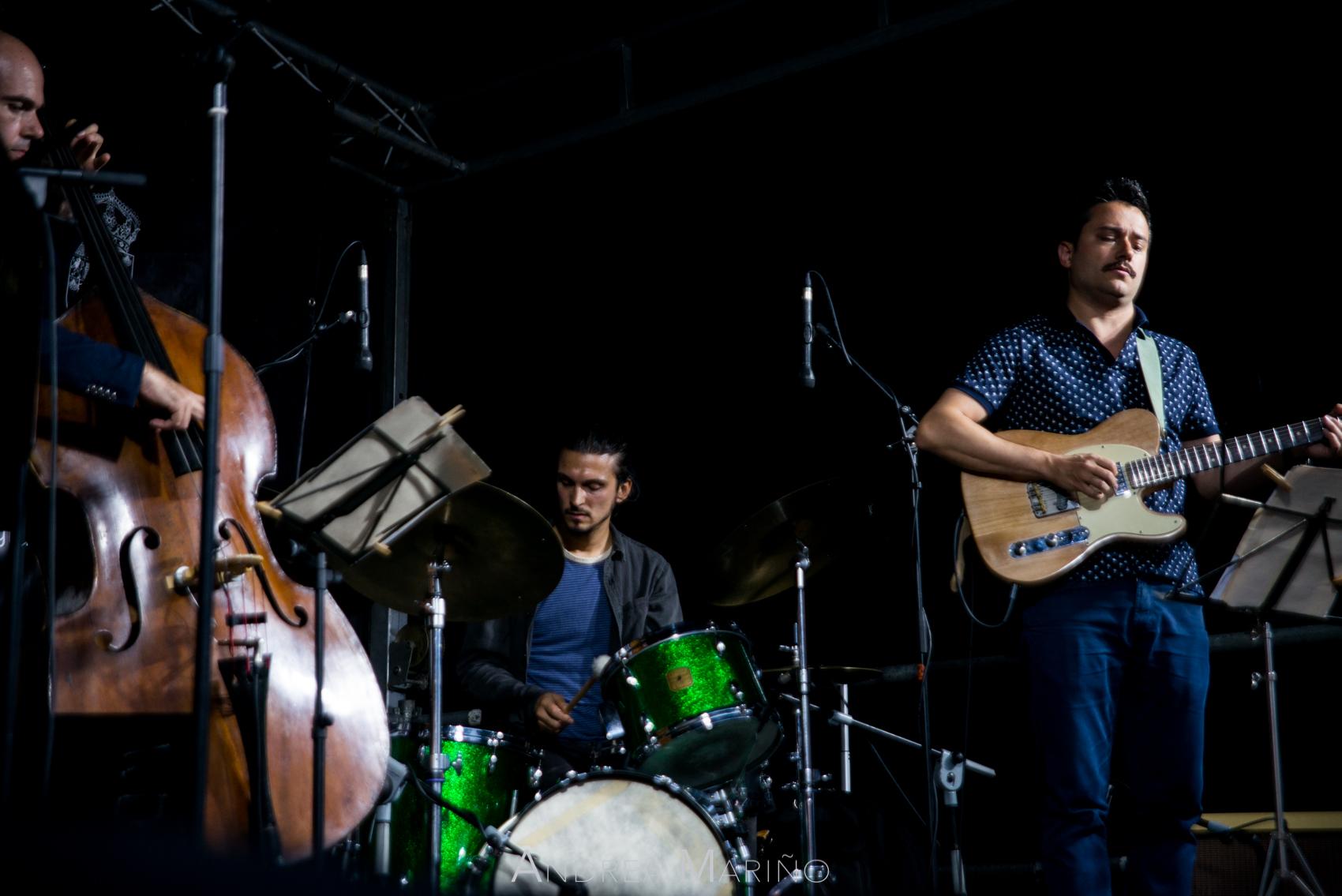 Andrea Mariño. Gonçalo Leonardo Quartet. Nigránjazz. Nigrán. 28/7/17