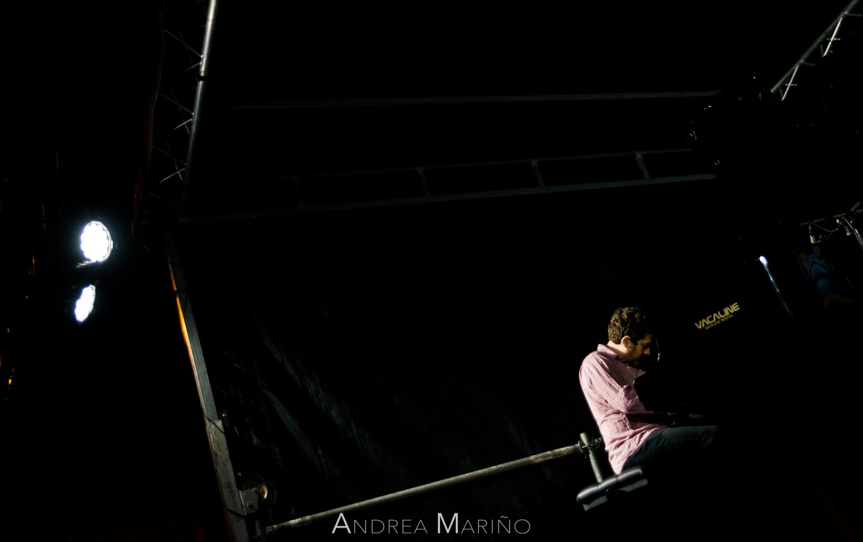 Andrea Mariño. Kevin Hays Trío. Nigránjazz. Nigrán. 29/7/17