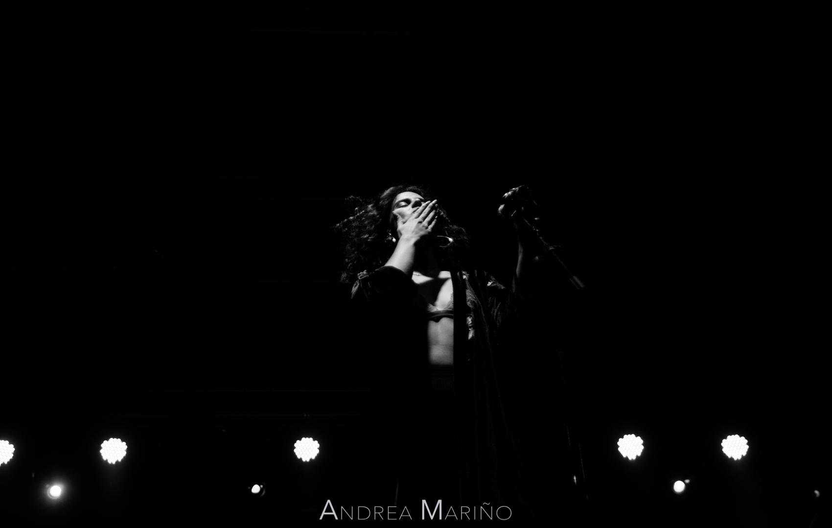 Andrea Mariño. Nathy Peluso. Vive Nigrán. Nigrán. 20/7/18