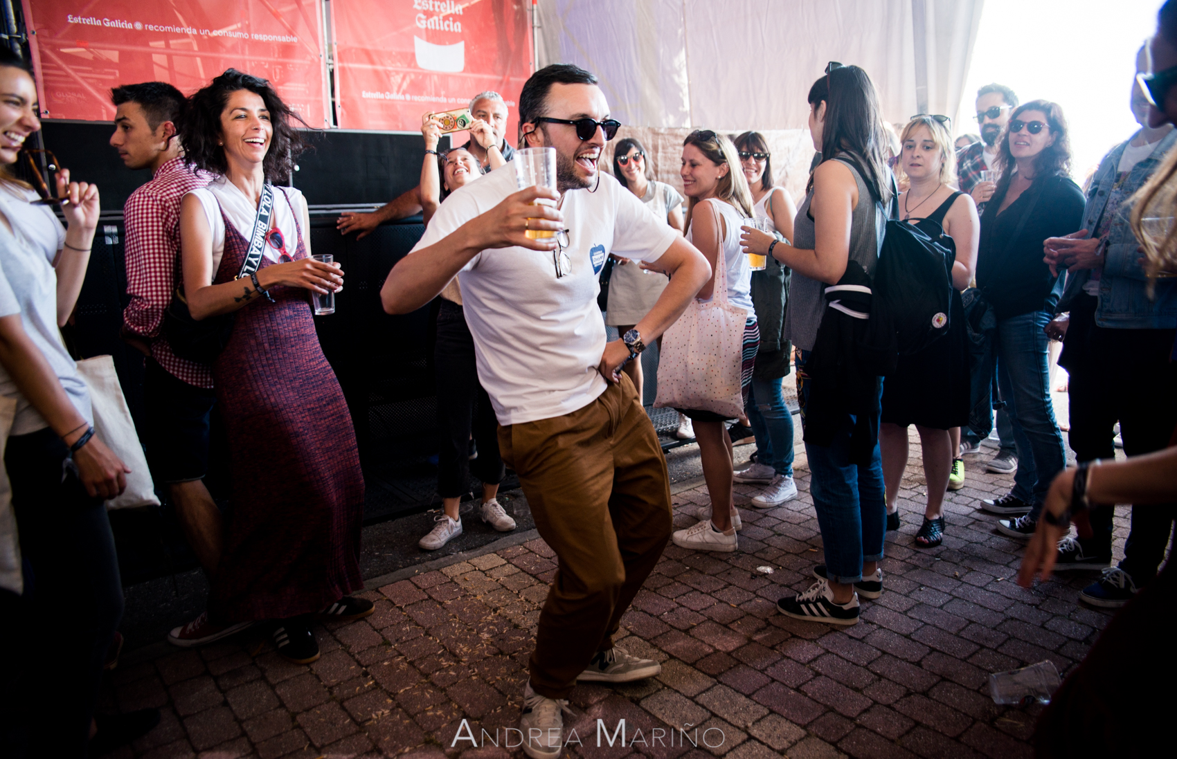 Andrea Mariño. Público. Atlantic Fest. Illa de Arousa. 2017