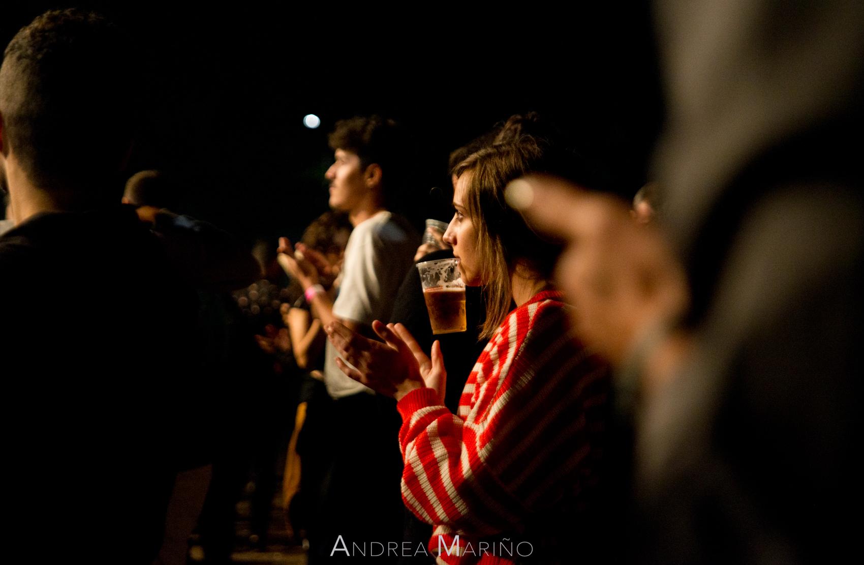 Andrea Mariño. Público. Vive Nigrán. Nigrán. 20/7/18