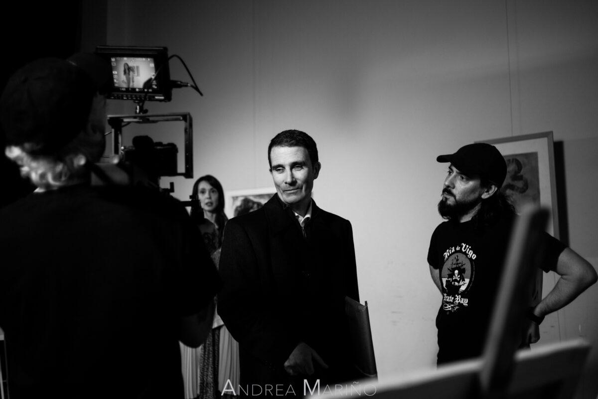 Elección del plano a grabar con el actor delante de la cámara
