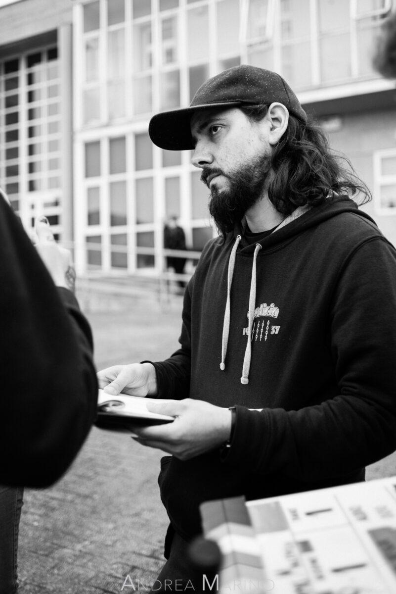 Antón Veiga, director del cortometraje serio